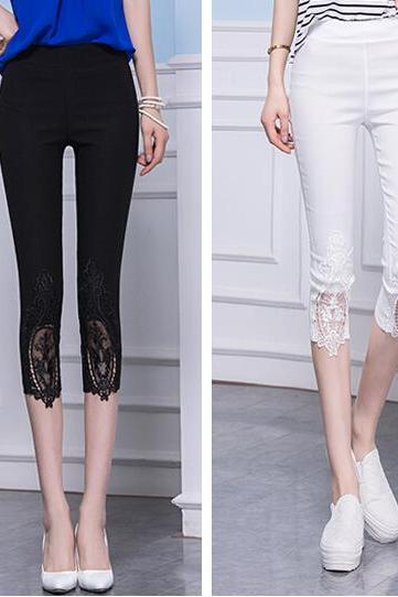 Hot Selling Nice lace leggings