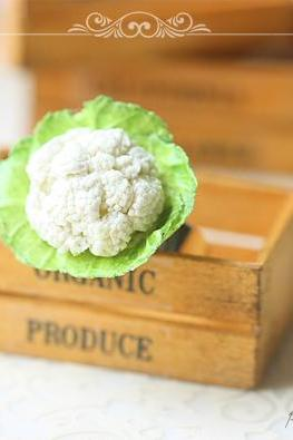 Mini Food Jewelry - Cauliflower Art Ring