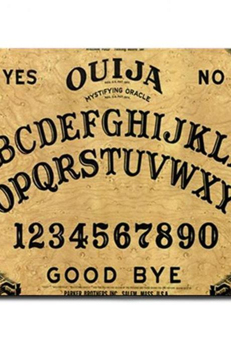 Vintage Ouija Witch Board Photo Mousepad Mouse Mat Fabric & Neoprene Rubber Custom Design Made to Order 40519125