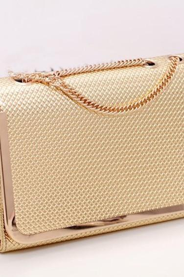 Beautiful Metallic Gold Bag
