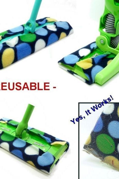 1 Reusable Swiffer Sheet - SWIFTERS - Choose Your Pattern
