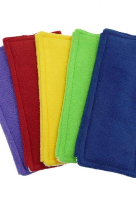 1 Swiffer Sweeper pad - Fleece and Terry cloth Double Sided - Pick your Color