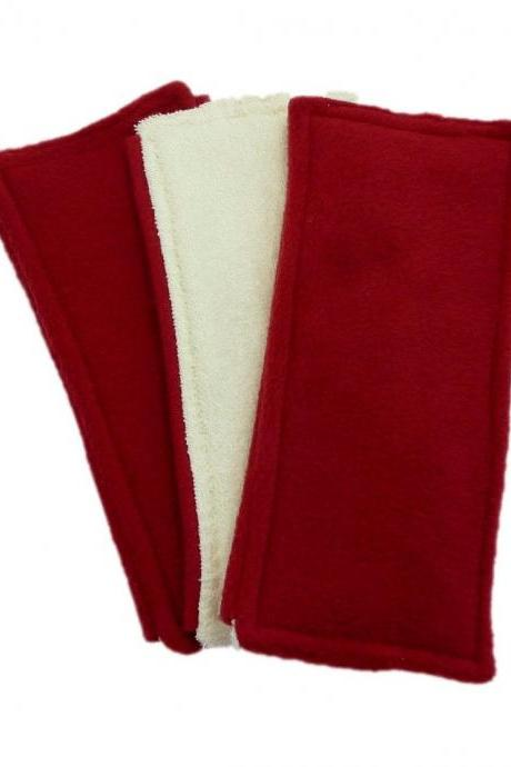 3 Swiffer Sweeper pads - Double Sided - Red
