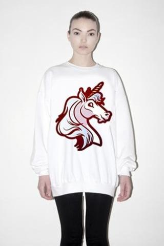 Harajuku Fancy Unicorn Sweatshirt Jumper