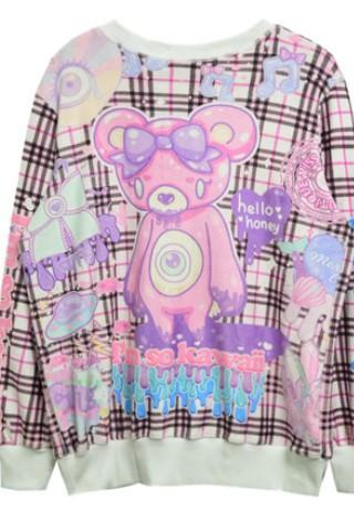 2014 I'm So Kawaii Bear Sweater