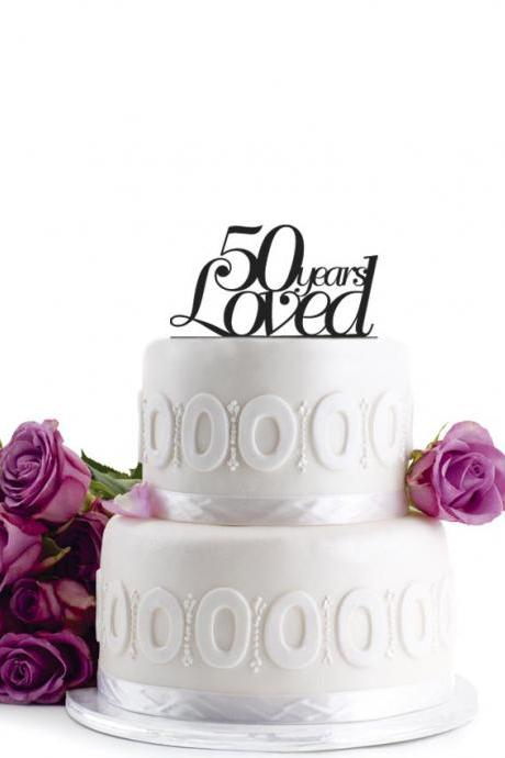 Anniversary Cake Topper - Wedding Cake Topper - Initial Wedding Decoration - Cake Decor Personalized Wedding Cake Topper - Monogram Cake Topper