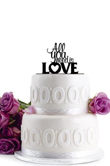 Wedding Cake Topper - Initial Wedding Decoration - Cake Decor - Personalized Wedding Cake Topper - Monogram Cake Topper - Anniversary Cake Topper - Birthday Cake Topper