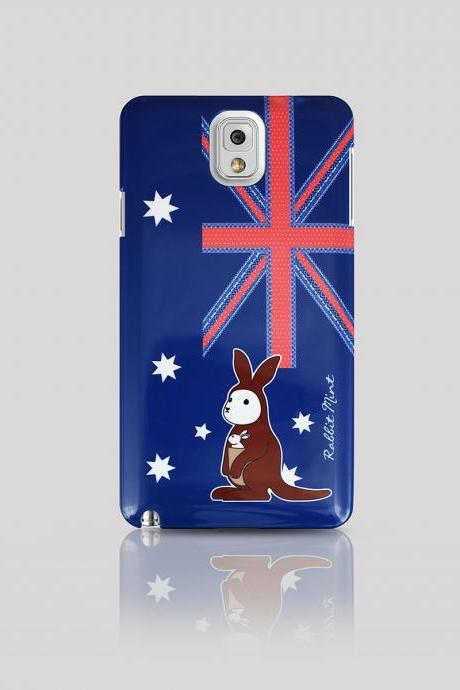 Samsung Galaxy Note 3 Case - Bunny loves Kangaroo (P00054)