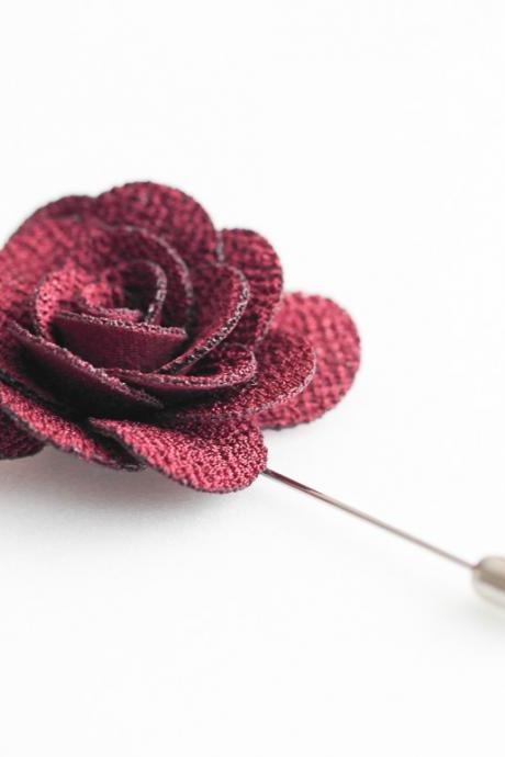 COCO Blossom Men's Flower Boutonniere / Buttonhole For Wedding,Lapel Pin,Tie Pin