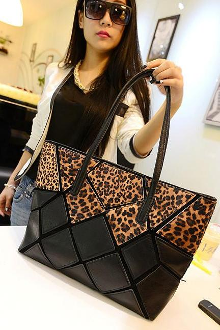 Leopard Print Fashion Hand Bag