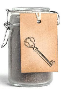 Skeleton key kraft tags . gift . label . brown . natural . vintage . embellishment . rustic . brown . sepia . cotton cord