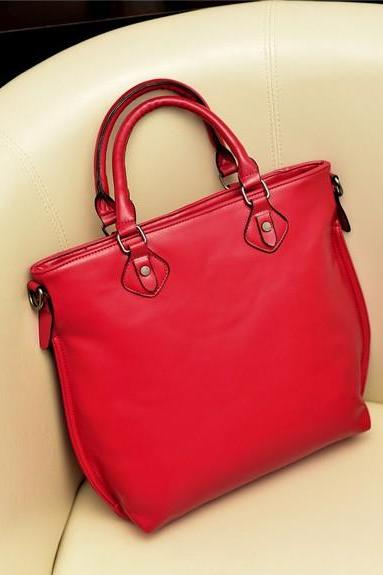 Red Fashion Hand Bag