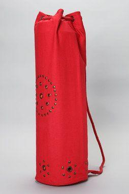 Chakra Rivet Yoga Mat Bag in RED