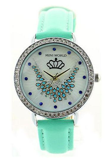 Fresh Phoenix Crown Mint Green Watch