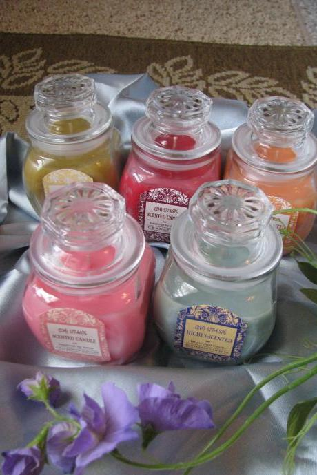 1ea HighlyScented Candle 16oz EXQUISITE Jar Your Choice of Fragrance