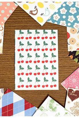 Label Sticker Pack - Pattern (52 Pieces Package)