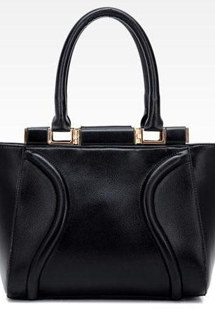 Chic Black Fashion Handbag