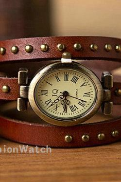 Rome watches, leather watches, women watches