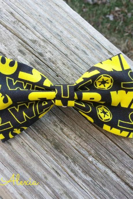 Super Hero Boy's Fabric Bow Tie