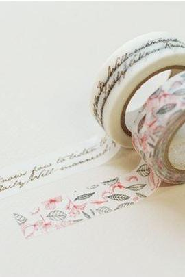 Masking Adhesive Tape Decorative Tape - Luna