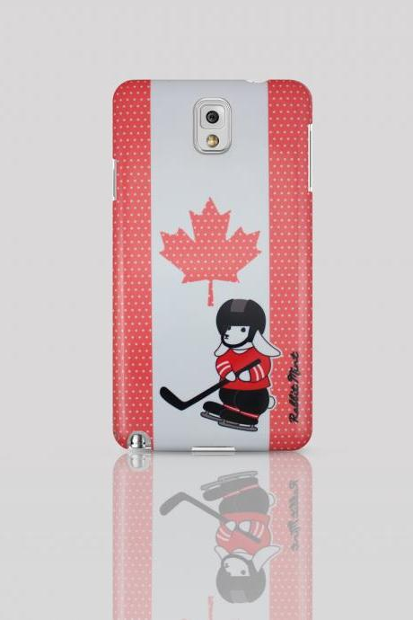 Samsung Galaxy Note 3 Case - Bunny Love Travel - Canada (00060-N3)