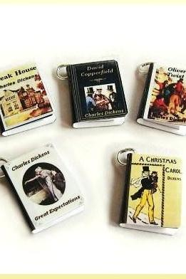 Miniature Book Charms Dickens Classics Set of all 5