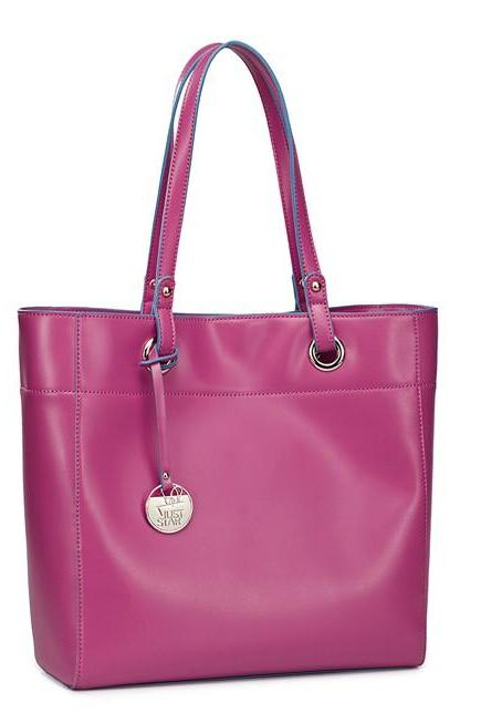 Elegant Two Pieces Rose Pink Fashion Handbag