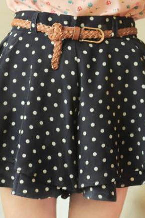 Polka Dot Chiffon - Black, Green, Pink, White