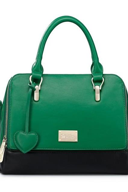 Green Luxury Hand Bag