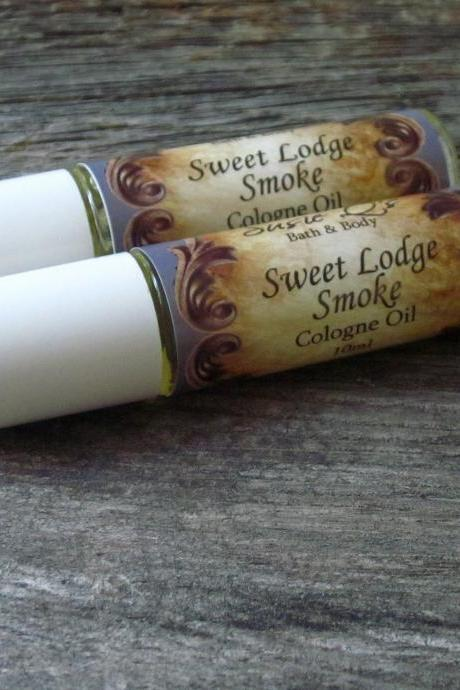 Sweet Lodge Smoke Cologne Oil