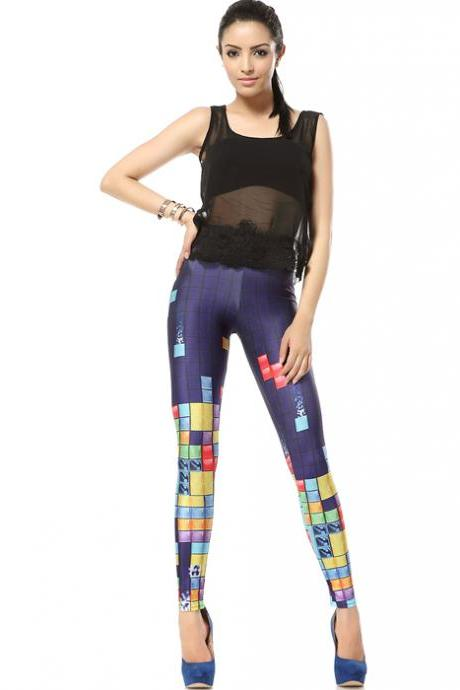 Tetris Leggings Pants