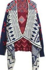 Pope Geometric Pattern Sweater BCID