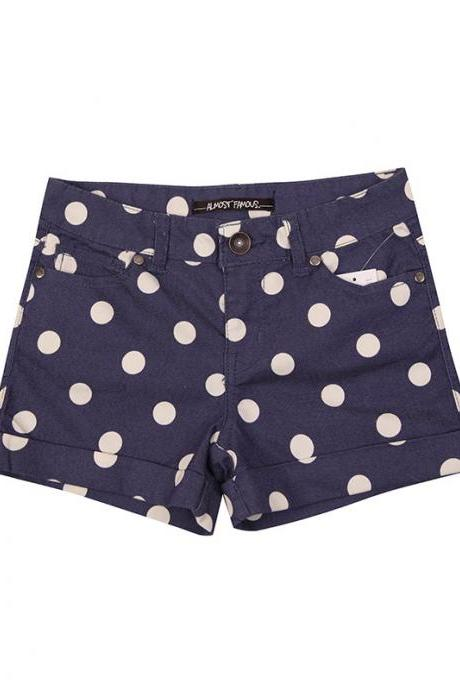 Polka Dot Shorts women's fashion leisure wild