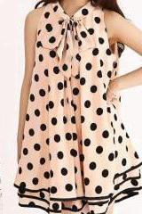 BOW CHIFFON DRESS