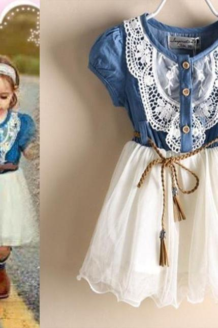 White Denim Dress Barn Wedding Outfit for Cowgirl Girls Cowgirls Props Session for Photography