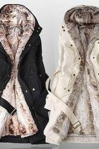 Winter Coats For Women With Faux Fur Lining