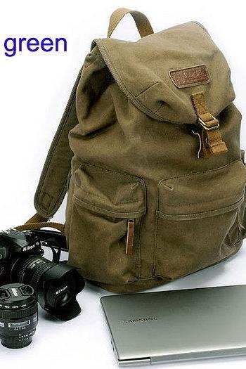 Canvas Camera Bag Photography Backpacks CSC Camera bag DSLR Camera Backpacks Retro Canvas Bag