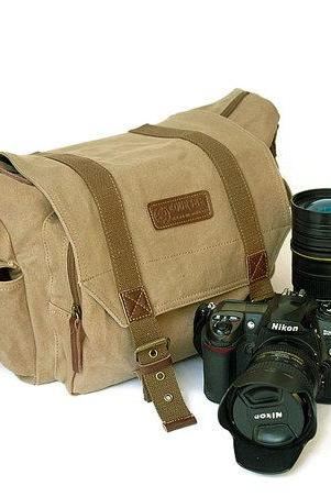 Canvas Camera Bag Camera Messenger Bag Canvas Camera Messenger Bags Photography bag Canvas crossbody bag