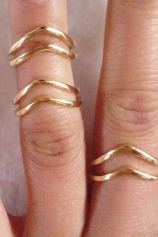 Total 3pcs rings