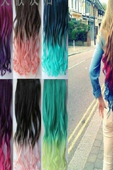 Fashion Gradual Color Hair Extension
