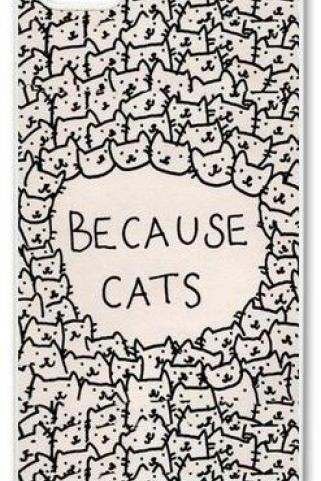 BECAUSE CATS Case For iPhone 5 5S 5G