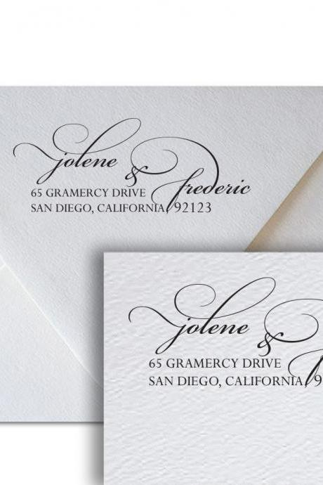 Wedding Address Calligraphy Jolene - return address wedding calligraphy printable