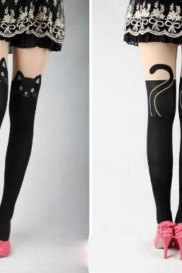Sexy cat pantyhose