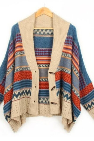 Oversized Cardigan Sweater-High Quality