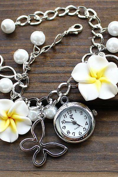 Fashion students flowers Bracelet Watch female watches