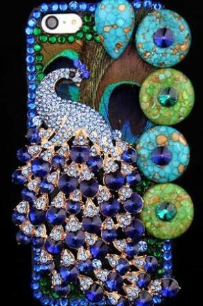 luxury peacock case bling bling case simple classy case iphone 4/4s/5/5s/5c,samsung s3/s4 case, samsung note 2/note 3 case