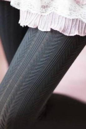 Sexy Stripe Pattern Stockings (5 colors)