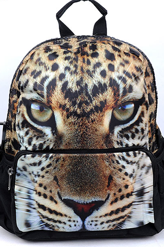 3D Tiger Animal Backpack Cute Schoolbag