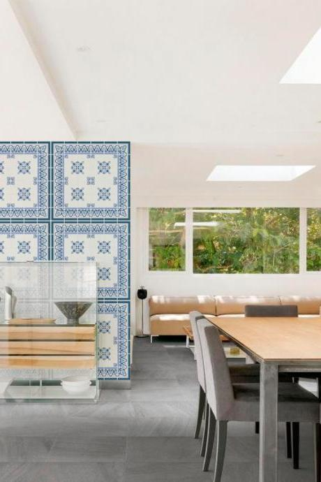 Tile Stickers Modern Classic Decor - Stick on ceramic tiles and change to a Modern but yet Classic Decor - Washable and Waterproof