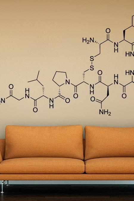 Love Molecule - Oxytocin wall sticker, decal for home decor